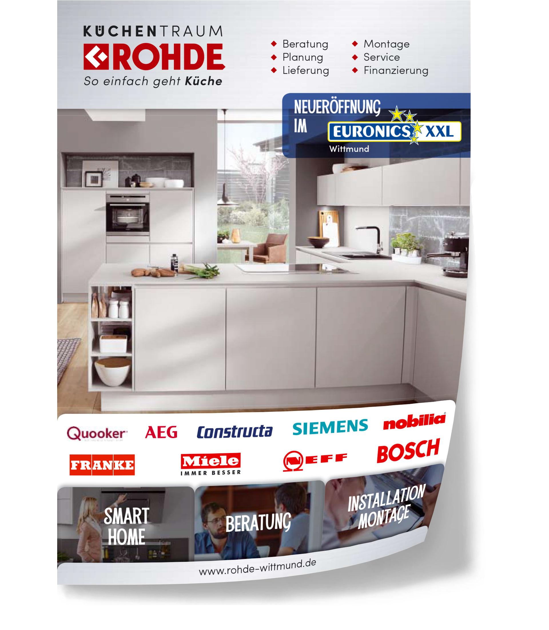 Aktuelles – Prospekt – Küchentraum Rohde in Wittmund