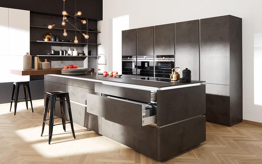 Beton macht Ihre Küche einzigartig