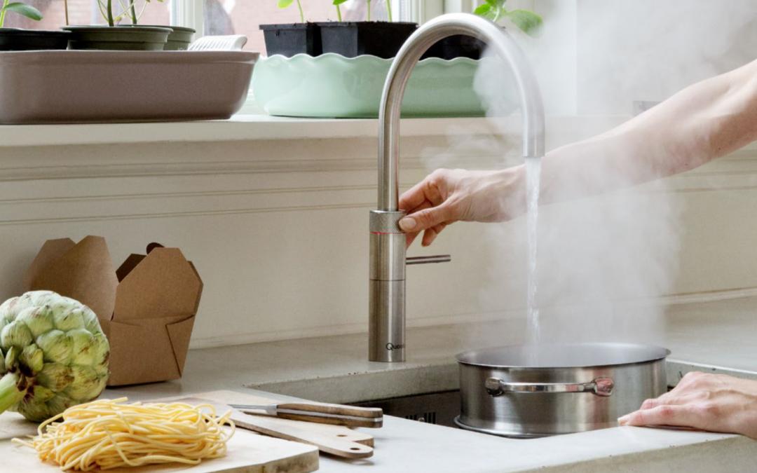 Der Quooker Kochend-Wasserhahn