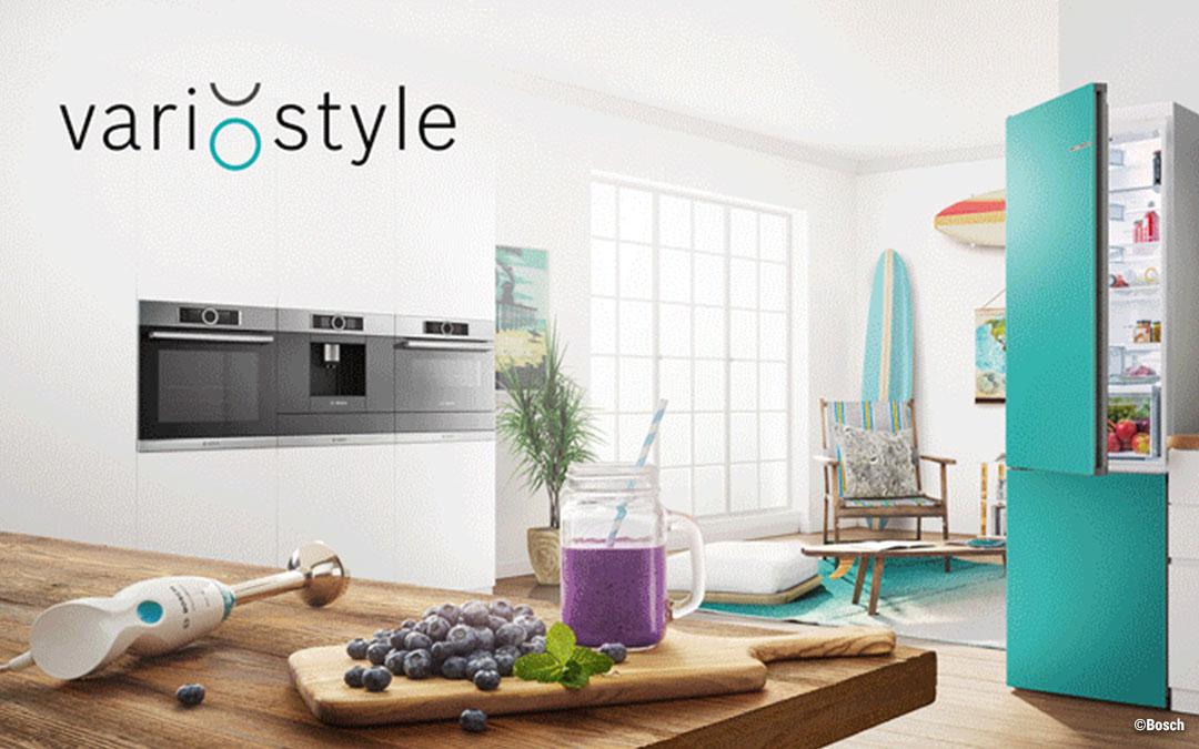 Bosch Vario Style: Der erste Kühlschrank, der seine Farbe ändern kann