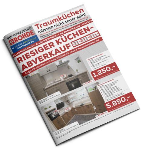Küchen Prospekt – Küchentraum Rohde in Wittmund